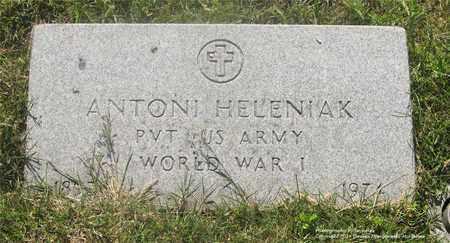 HELENIAK, ANTONI - Lucas County, Ohio | ANTONI HELENIAK - Ohio Gravestone Photos