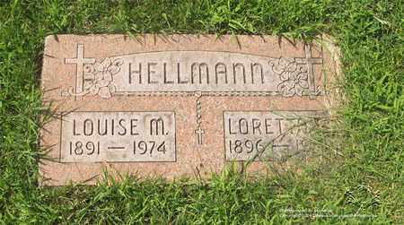 HELLMANN, LOUISE M. - Lucas County, Ohio | LOUISE M. HELLMANN - Ohio Gravestone Photos
