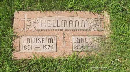 HELLMANN, LORETTA R. - Lucas County, Ohio | LORETTA R. HELLMANN - Ohio Gravestone Photos