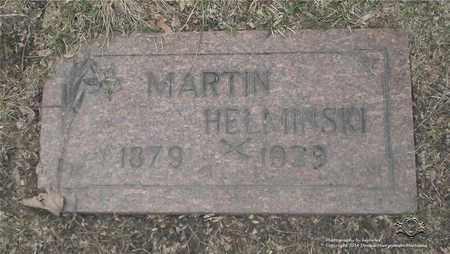 HELMINSKI, MARTIN - Lucas County, Ohio | MARTIN HELMINSKI - Ohio Gravestone Photos