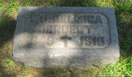HERBERT, WILHEMINA - Lucas County, Ohio | WILHEMINA HERBERT - Ohio Gravestone Photos