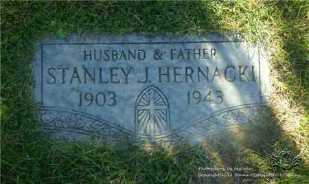 HERNACKI, STANLEY J. - Lucas County, Ohio | STANLEY J. HERNACKI - Ohio Gravestone Photos