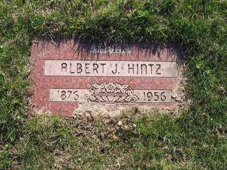 HINTZ, ALBERT - Lucas County, Ohio | ALBERT HINTZ - Ohio Gravestone Photos