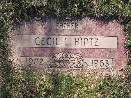 HINTZ, CECIL - Lucas County, Ohio | CECIL HINTZ - Ohio Gravestone Photos