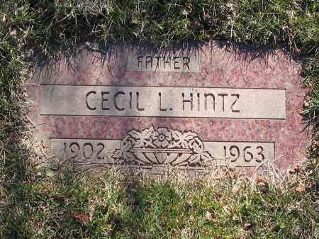 HINTZ, CECIL - Lucas County, Ohio | CECIL HINTZ - Ohio Gravestone Photos