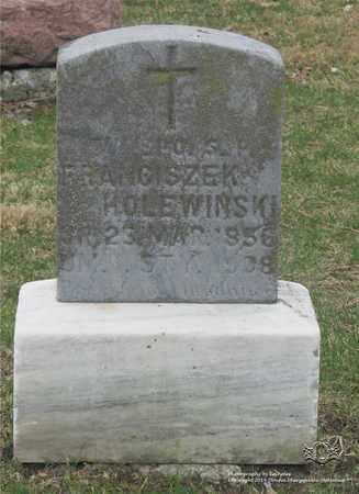 HOLEWINSKI, FRANCISZEK - Lucas County, Ohio | FRANCISZEK HOLEWINSKI - Ohio Gravestone Photos