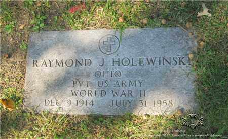 HOLEWINSKI, RAYMOND J. - Lucas County, Ohio | RAYMOND J. HOLEWINSKI - Ohio Gravestone Photos