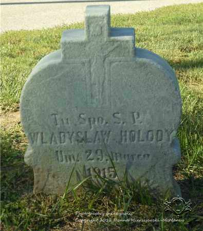HOLODY, WLADYSLAW - Lucas County, Ohio | WLADYSLAW HOLODY - Ohio Gravestone Photos