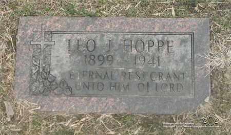 HOPPE, LEO J. - Lucas County, Ohio | LEO J. HOPPE - Ohio Gravestone Photos