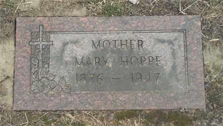 HOPPE, MARY - Lucas County, Ohio | MARY HOPPE - Ohio Gravestone Photos