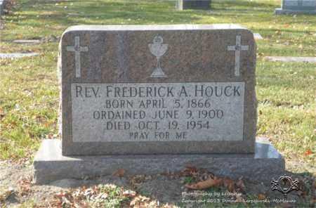 HOUCK, FREDERICK A. - Lucas County, Ohio | FREDERICK A. HOUCK - Ohio Gravestone Photos