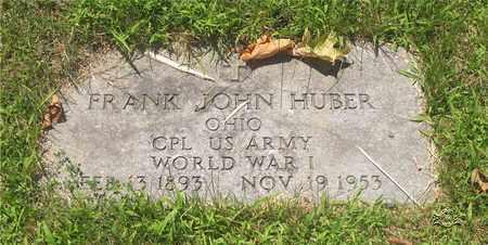 HUBER, FRANK JOHN - Lucas County, Ohio | FRANK JOHN HUBER - Ohio Gravestone Photos