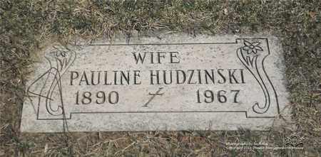 MICHALAK HUDZINSKI, PAULINE - Lucas County, Ohio | PAULINE MICHALAK HUDZINSKI - Ohio Gravestone Photos
