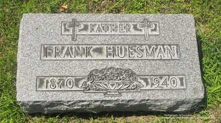HUESMAN, FRANK - Lucas County, Ohio | FRANK HUESMAN - Ohio Gravestone Photos