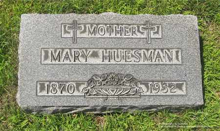 HUESMAN, MARY - Lucas County, Ohio | MARY HUESMAN - Ohio Gravestone Photos