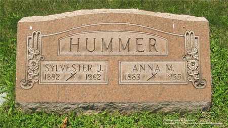 HUMMER, SYLVESTER J. - Lucas County, Ohio | SYLVESTER J. HUMMER - Ohio Gravestone Photos