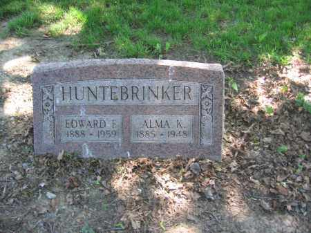 HUNTERBRINKER, ALMA - Lucas County, Ohio | ALMA HUNTERBRINKER - Ohio Gravestone Photos
