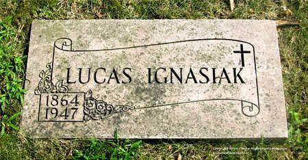 IGNASIAK, LUCAS - Lucas County, Ohio | LUCAS IGNASIAK - Ohio Gravestone Photos
