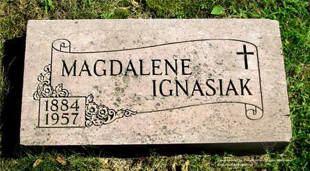 IGNASIAK, MAGDALENE - Lucas County, Ohio | MAGDALENE IGNASIAK - Ohio Gravestone Photos