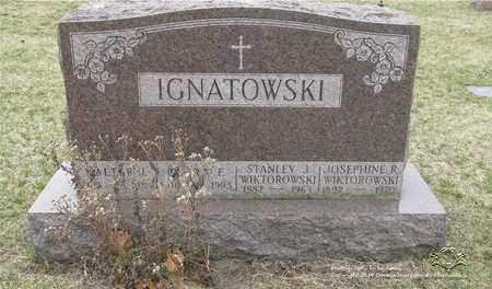 IGNATOWSKI, CLARA F. - Lucas County, Ohio | CLARA F. IGNATOWSKI - Ohio Gravestone Photos
