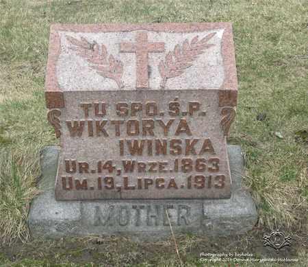 DEMSKI IWINSKA, WIKTORYA - Lucas County, Ohio | WIKTORYA DEMSKI IWINSKA - Ohio Gravestone Photos