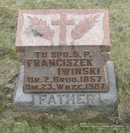 IWINSKI, FRANCISZEK - Lucas County, Ohio | FRANCISZEK IWINSKI - Ohio Gravestone Photos