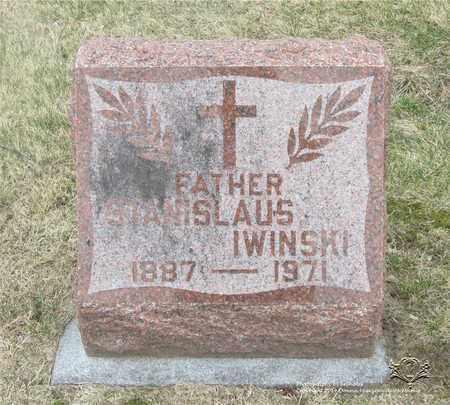 IWINSKI, STANISLAUS - Lucas County, Ohio | STANISLAUS IWINSKI - Ohio Gravestone Photos