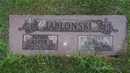 JABLONSKI, CASPER - Lucas County, Ohio | CASPER JABLONSKI - Ohio Gravestone Photos