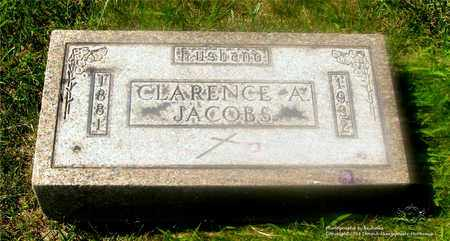 JACOBS, CLARENCE A. - Lucas County, Ohio | CLARENCE A. JACOBS - Ohio Gravestone Photos