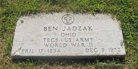 JADZAK, BEN - Lucas County, Ohio | BEN JADZAK - Ohio Gravestone Photos