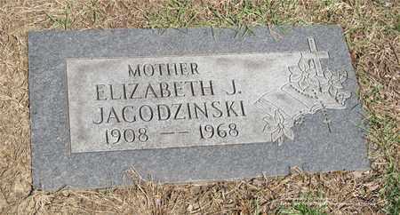 JAGODZINSKI, ELIZABETH J. - Lucas County, Ohio | ELIZABETH J. JAGODZINSKI - Ohio Gravestone Photos