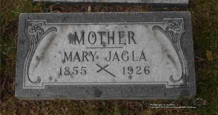 ZIELINSKI JAGLA, MARY - Lucas County, Ohio | MARY ZIELINSKI JAGLA - Ohio Gravestone Photos