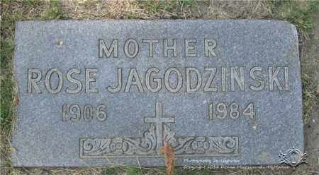 JAGODZINSKI, ROSE - Lucas County, Ohio | ROSE JAGODZINSKI - Ohio Gravestone Photos
