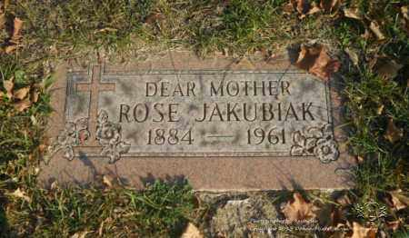 JAKUBIAK, ROSE - Lucas County, Ohio | ROSE JAKUBIAK - Ohio Gravestone Photos