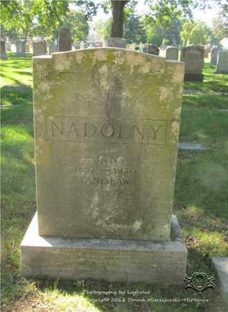 NADOLNY, JAN - Lucas County, Ohio | JAN NADOLNY - Ohio Gravestone Photos