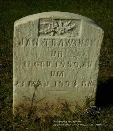 TRAWINSKI, JAN - Lucas County, Ohio | JAN TRAWINSKI - Ohio Gravestone Photos
