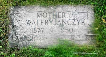 JANCZYK, C. WALERY - Lucas County, Ohio | C. WALERY JANCZYK - Ohio Gravestone Photos