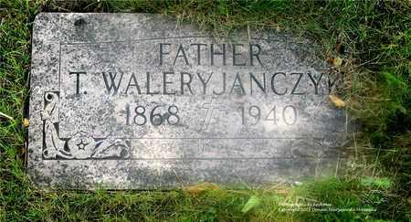 JANCZYK, T. WALERY - Lucas County, Ohio | T. WALERY JANCZYK - Ohio Gravestone Photos