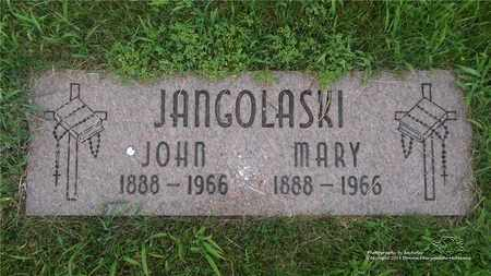 JANGOLASKI, MARY - Lucas County, Ohio | MARY JANGOLASKI - Ohio Gravestone Photos