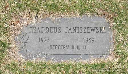JANISZEWSKI, THADDEUS - Lucas County, Ohio | THADDEUS JANISZEWSKI - Ohio Gravestone Photos