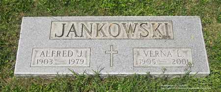 JANKOWSKI, ALFRED J. - Lucas County, Ohio | ALFRED J. JANKOWSKI - Ohio Gravestone Photos