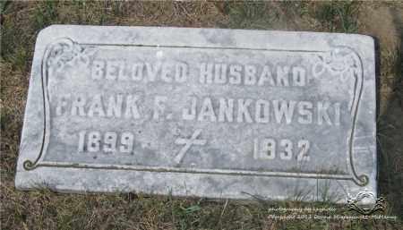 JANKOWSKI, FRANK F. - Lucas County, Ohio | FRANK F. JANKOWSKI - Ohio Gravestone Photos