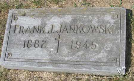 JANKOWSKI, FRANK J. - Lucas County, Ohio | FRANK J. JANKOWSKI - Ohio Gravestone Photos
