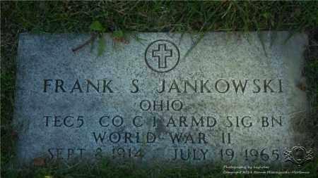 JANKOWSKI, FRANK S. - Lucas County, Ohio | FRANK S. JANKOWSKI - Ohio Gravestone Photos