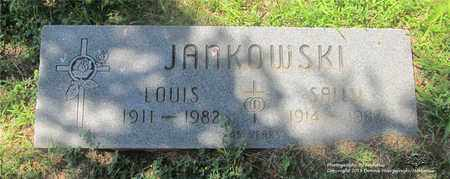 JANKOWSKI, LOUIS - Lucas County, Ohio | LOUIS JANKOWSKI - Ohio Gravestone Photos