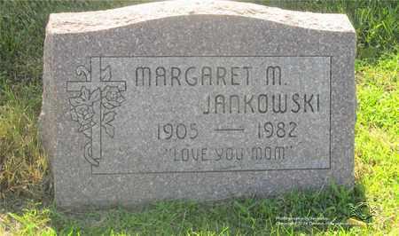 JANKOWSKI, MARGARET M. - Lucas County, Ohio | MARGARET M. JANKOWSKI - Ohio Gravestone Photos