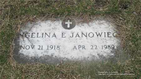 JANOWIECKI, ANGELINA - Lucas County, Ohio | ANGELINA JANOWIECKI - Ohio Gravestone Photos