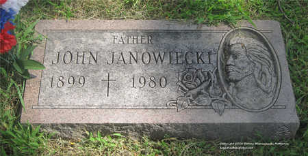 JANOWIECKI, JOHN - Lucas County, Ohio | JOHN JANOWIECKI - Ohio Gravestone Photos