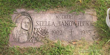 JANOWIECKI, STELLA - Lucas County, Ohio | STELLA JANOWIECKI - Ohio Gravestone Photos