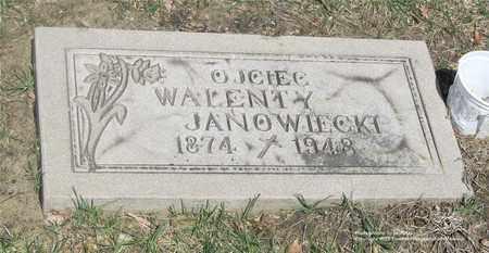 JANOWIECKI, WALENTY - Lucas County, Ohio | WALENTY JANOWIECKI - Ohio Gravestone Photos